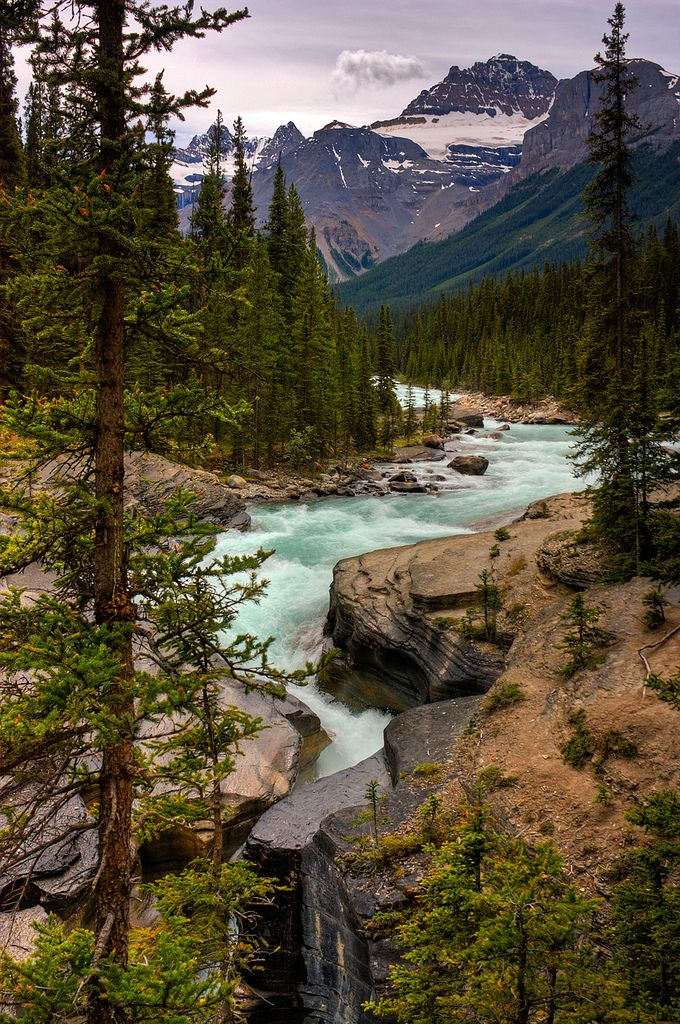 Mandatory | Mistaya river and canyon, Banff National Park, o… | Flickr