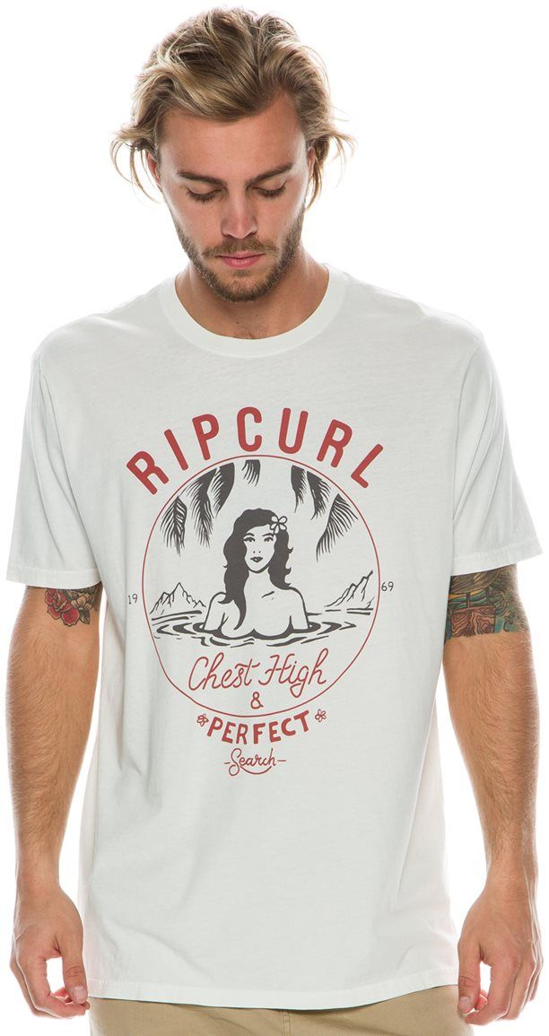 RIP CURL CHEST HIGH AND PERFECT HE TEE
