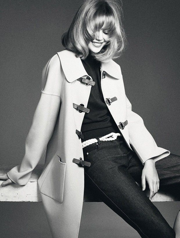 Frida Gustavsson for Elle Sweden by Andreas Sjodin