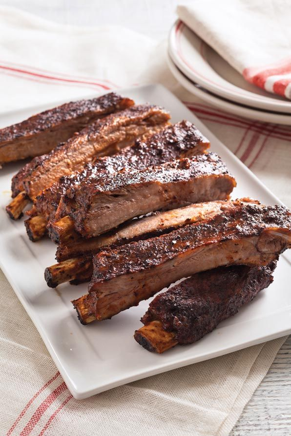 Oven-Cooked Ribs with Community® Coffee Dry Rub