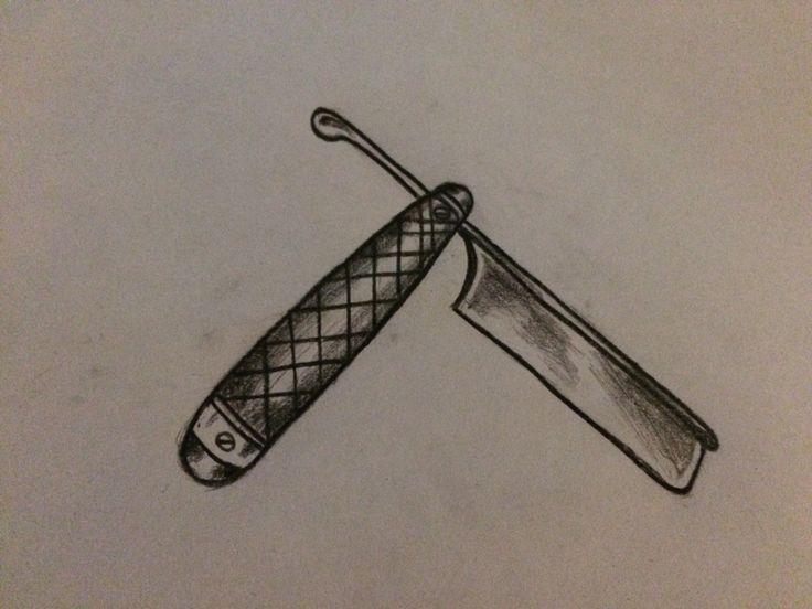 N.N#shavingknife#oldschool#beforecolour