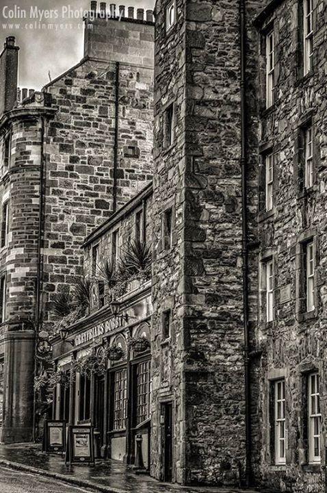 Candle Maker Row ~ Scotland