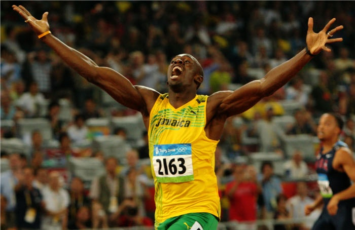 Usain Bolt - Beijing 2008 | Summer Olympics | Pinterest