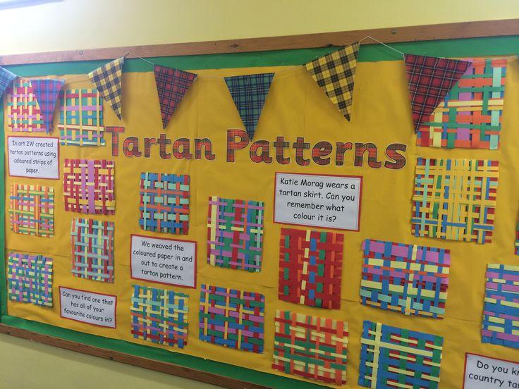 Katie Morag Tartan Weaving