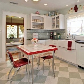This week's Blog Carnival courtesy of Refrigerator Reviews 4 U is all about retro kitchen design. The following blogs have some superb ideas on how to decorate a kitchen with a retro feel, whether including a 1950's fridge, or 1960's decor – click on the arti
