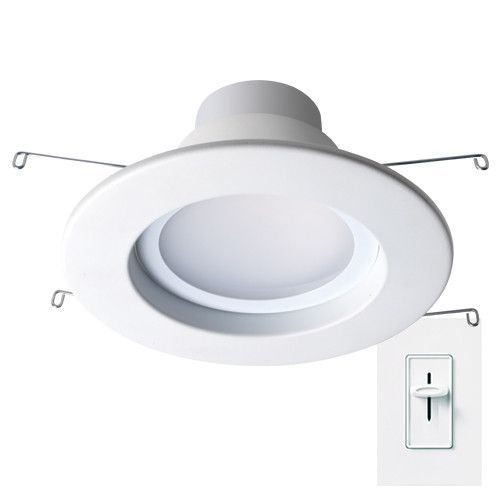Features:  Product Type: -Recessed lighting kit.  Insulation Type: -Retrofit.  Construction Type: -Remodel.  Finish: -White.  Bulb Type: -LED.  Air Tight: -Yes.  Primary Material: -Plastic.  Number of