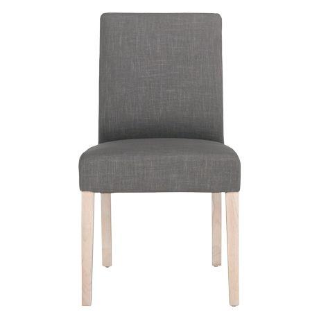 Avante Dining Chair Ella Grey White Wash Leg