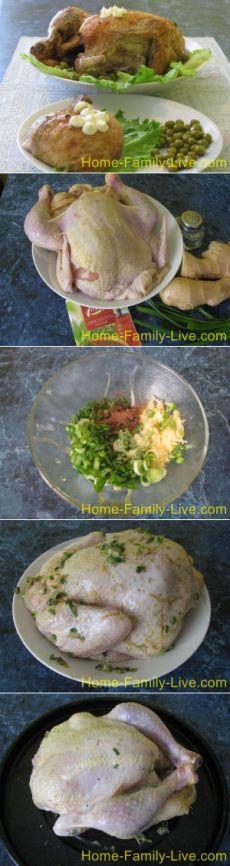 Курица с имбирем/Сайт с пошаговыми рецептами с фото для тех кто любит готовить