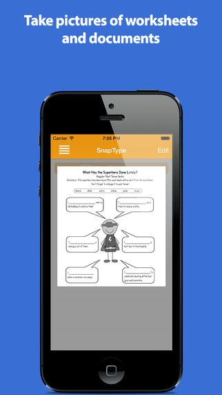SnapType for Occupational Therapy by Brendan Kirchner