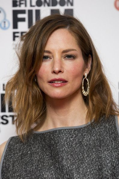 Sienna Guillory's textured lob