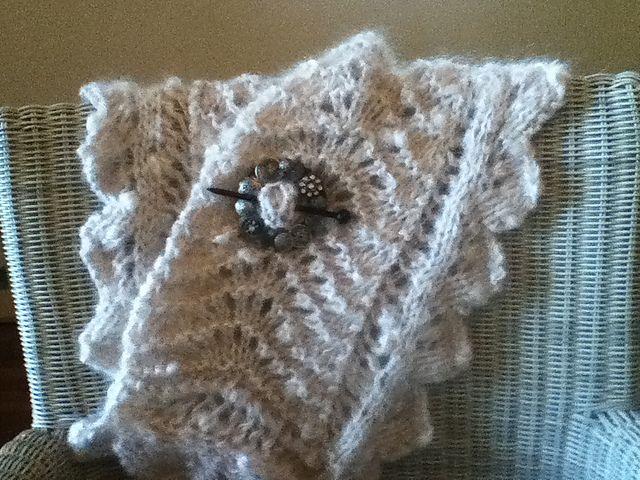 Ravelry:  GLIDE shawl Louisa Harding pattern