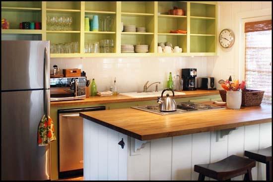 Open Wooden Kitchen