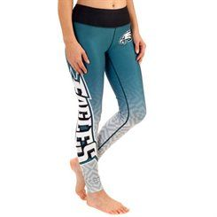 Philadelphia Eagles Women's Midnight Green Gradient Leggings