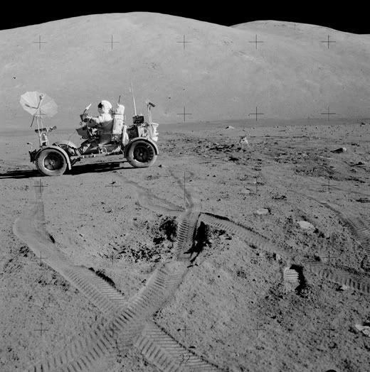 Lunar Wheels - Apollo 17