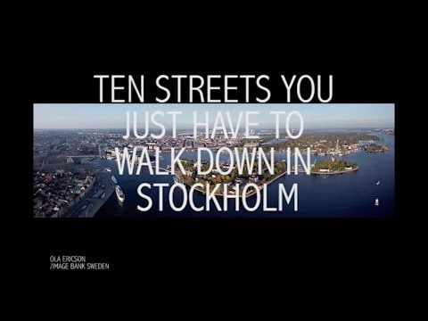 Ten Stockholm streets you have to walk down - The Local
