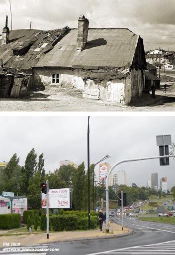 Dzisiejsza ulica Wieniawska róg Lubomelskiej.