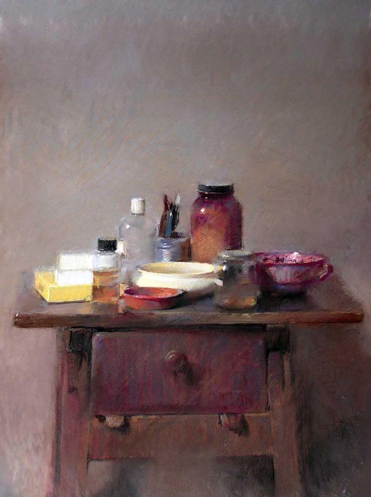 Por Amor al Arte: El don de Felipe Santamans para capturar momentos en el tiempo, o las imágenes en movimiento y llevarlos a la pintura.