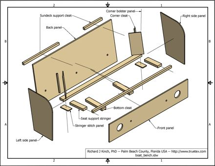 Boat bench seat plans Here are my 3D CAD model and drawings for recreating the bench seating on my 1986 Four Winns Liberator 211 boat I disassembled Download Free Plans Nov 28 2011 Creating a Rear Bench Seat for my 1961 15 ft Lonestar Flamingo Runabout Boat RearBenchSeat avi Boat building by Uriel1816 Boat bench seats are an easy way to increase the amount of seating area in your boat and they also enable you to make the most of limited space Bench seats are ideal for the boat as they can be…