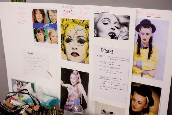 Jean Paul Gaultier Spring 2013 - Backstage