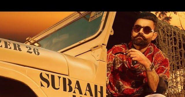 Subaah Jatt Da Lyrics In English Amrit Maan 2020 In 2020 Lyrics Music Songs Songs