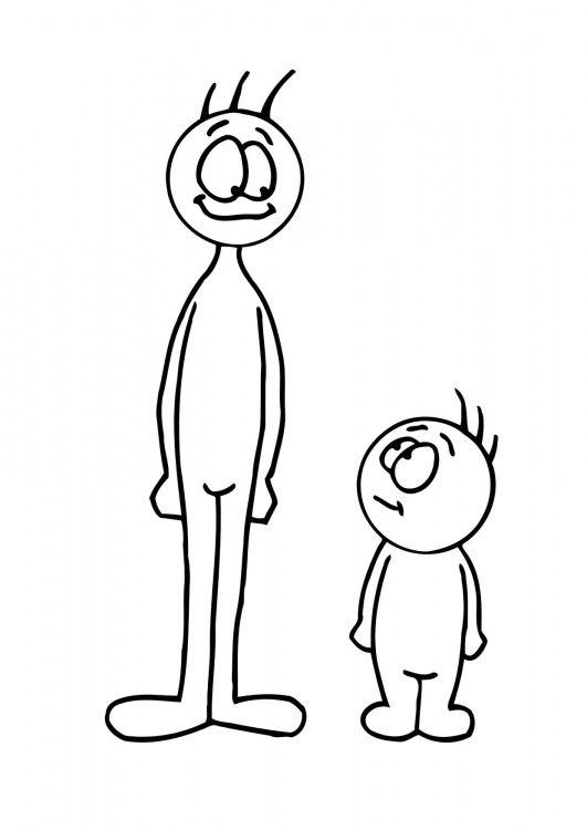Groot en klein