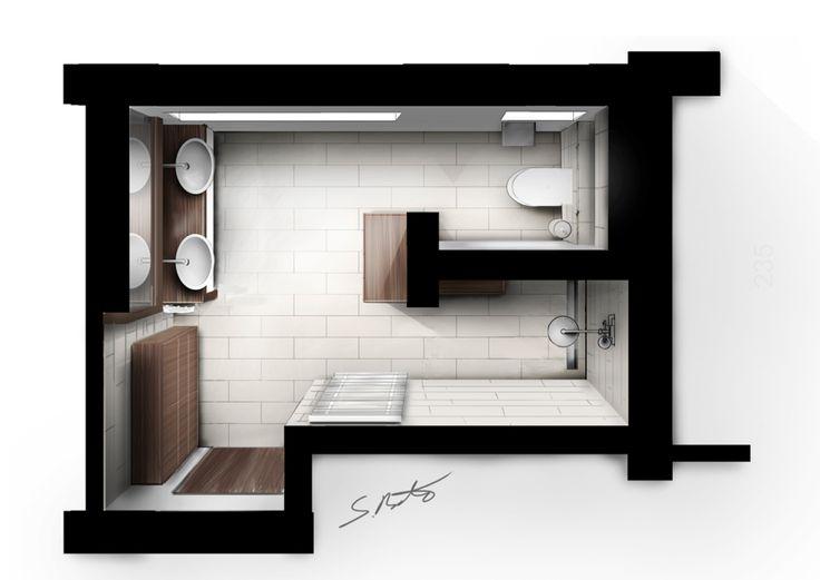 die besten 25 bad grundriss ideen auf pinterest badezimmer grundriss eigenheim layout und. Black Bedroom Furniture Sets. Home Design Ideas