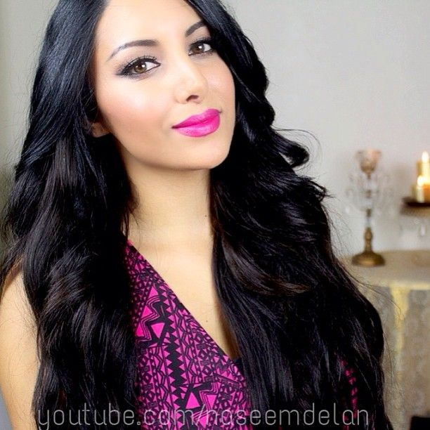 Wearing Bellami Hair Extensions Amp Curled Them With Nume