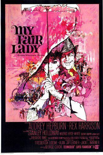 My Fair Lady Poster Movie 11x17 Audrey Hepburn Rex Harrison Stanley Holloway Wilfrid Hyde-White by Pop Culture Graphics, http://www.amazon.com/dp/B000JVXHY6/ref=cm_sw_r_pi_dp_Pwhesb1SDF6ER