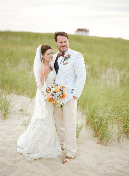 Beautiful Outdoor Wedding On A Beach In Cape Cod Planning By Elegant Aura