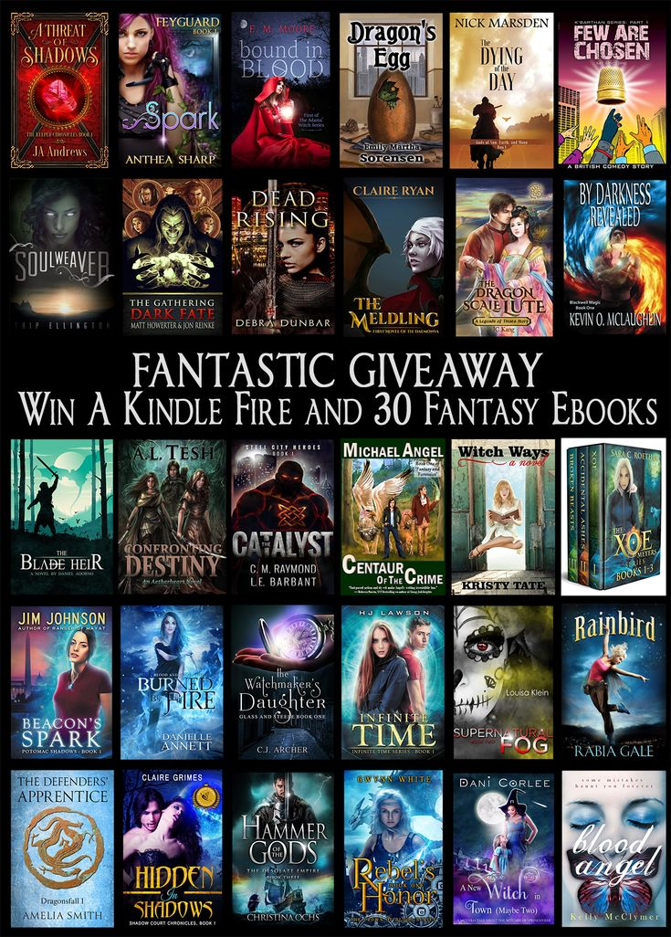 Win a Kindle Fire and 30 Clean Fantasy Ebooks!