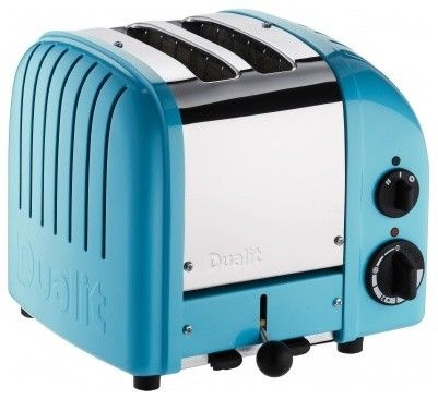 Azure Blue Two-Slice Toaster from Dualit. Add to iList Apps® Wedding Registry at www.ilistapps.com