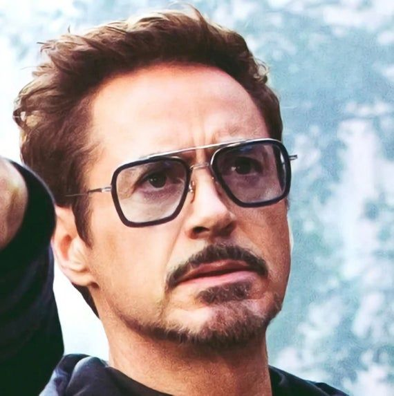 Edith Tony Stark Sunglasses Robert Jr Downey Glasses Iron Man Spiderman Glasses Tony Stark Tony Stark Sunglasses Tony Stark Iron Man Tony Stark