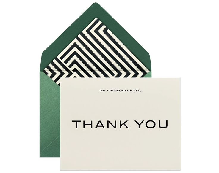 THANK YOU CARD FOR HIM | Finally a card that's stylish AND appropriate for men :) #greetingcards #menstyle