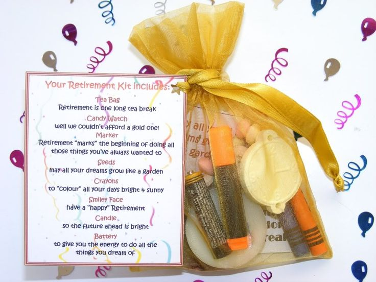 Details about Personalised Retirement Survival Kit present ...