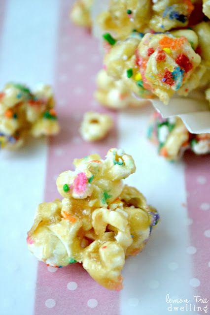 Birthday Cake Caramel Corn