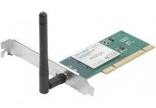 TP-LINK TL-WN551G Carte PCI WiFi 54Mbps antenne amov.