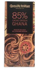Amatller 70g. Ciocolata neagra 85% cacao origine  Ghana