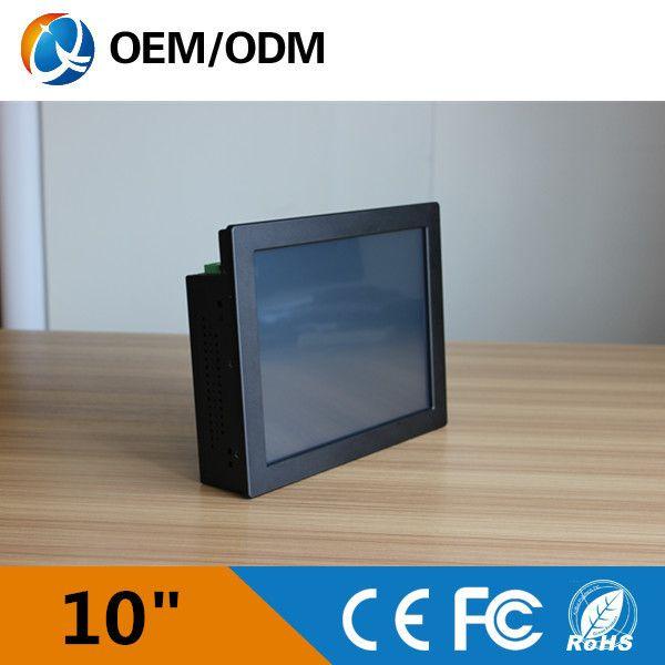 Настольных пк с Intel Atom N2600 1.6 ГГц 10.4 дюймов светодиодные панели Resolution800x600 еэс в промышленный рабочий стол/настенный/embedded