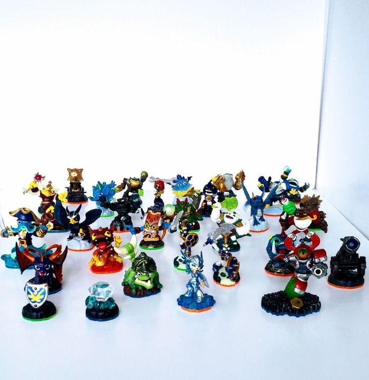 Skylanders Bundle of 31 Figures + 52 Cards #XBox Playstation Nintendo Wii