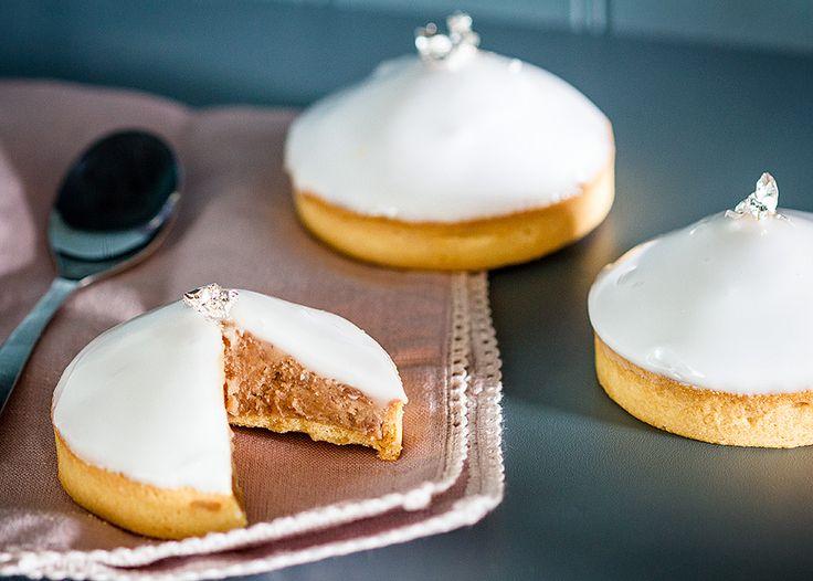 Tartelettes intensément marron Pour les grands amateurs de crème de marrons, c'est l'idéal. En fait, c'est la recette des barquettes aux marrons (sans la crème d'amandes) mais en version tartelettes...