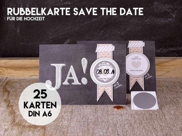 "Save The Date Karten Selber Basteln : Save The Date Karten auf Pinterest""  Hochzeitskarten, Save the date"