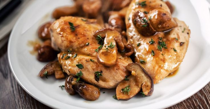 Slow Cooker Chicken And Mushrooms – 12 Tomatoes