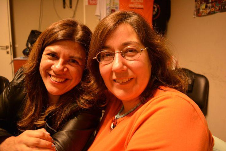 Laura Ávila y Natacha Mell. 28 de julio de 2015.  República de Avellaneda.