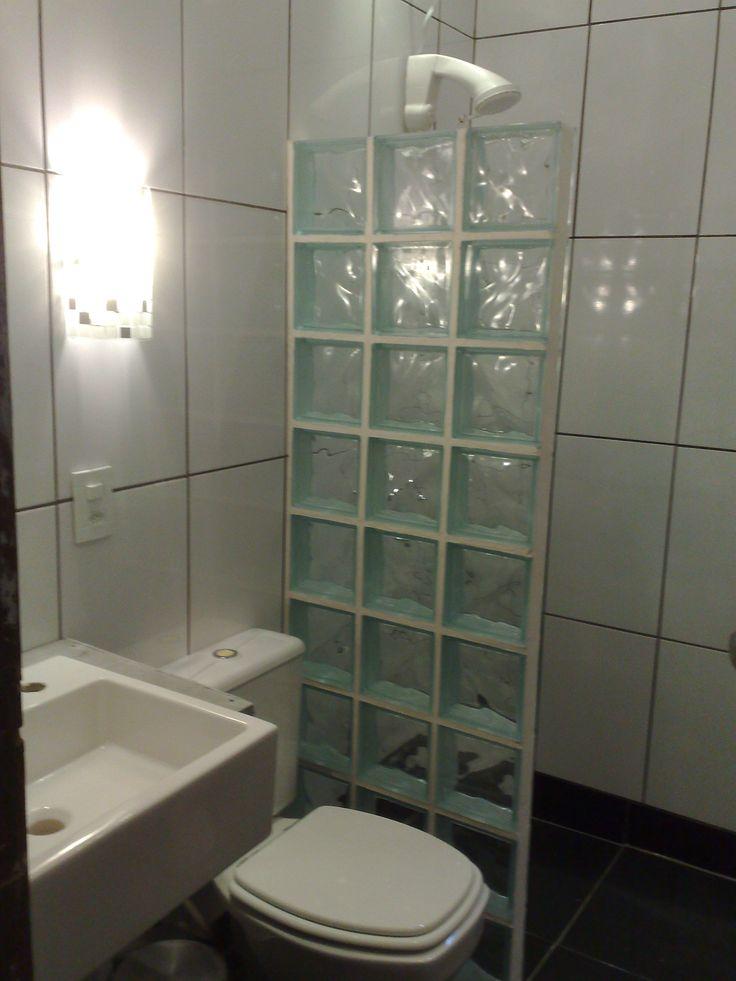 1000+ ideas about Box De Vidro on Pinterest  Box De Canto, Dorm Room and Sal -> Banheiro Decorado Com Tijolos De Vidro