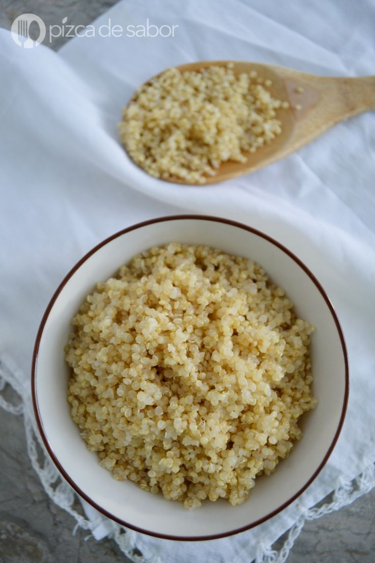 ¿Cómo cocinar la quinoa / quinua? Receta sencilla, probada y muy fácil www.pizcadesabor.com