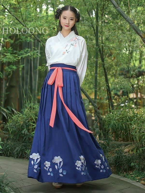 Summer Blue Special price Hanfu Women Ruqun Clothing