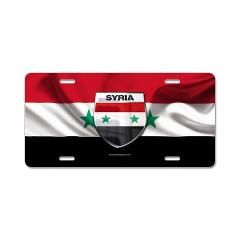 Syria Aluminum License Plate> Syria> Honor Pride Glory