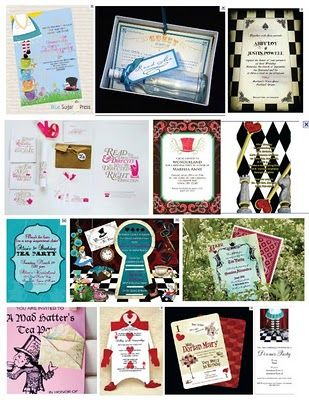 Favors hatter Homemade Party Hatters  Invitations mad shopping   various Bridal list   online of  invites Un Shower   and sites Mad