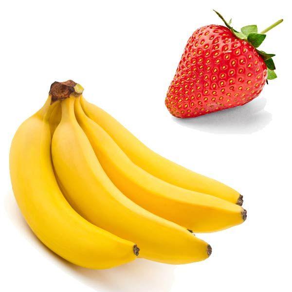 Centrifugato Drenante alla Fragola con Banana