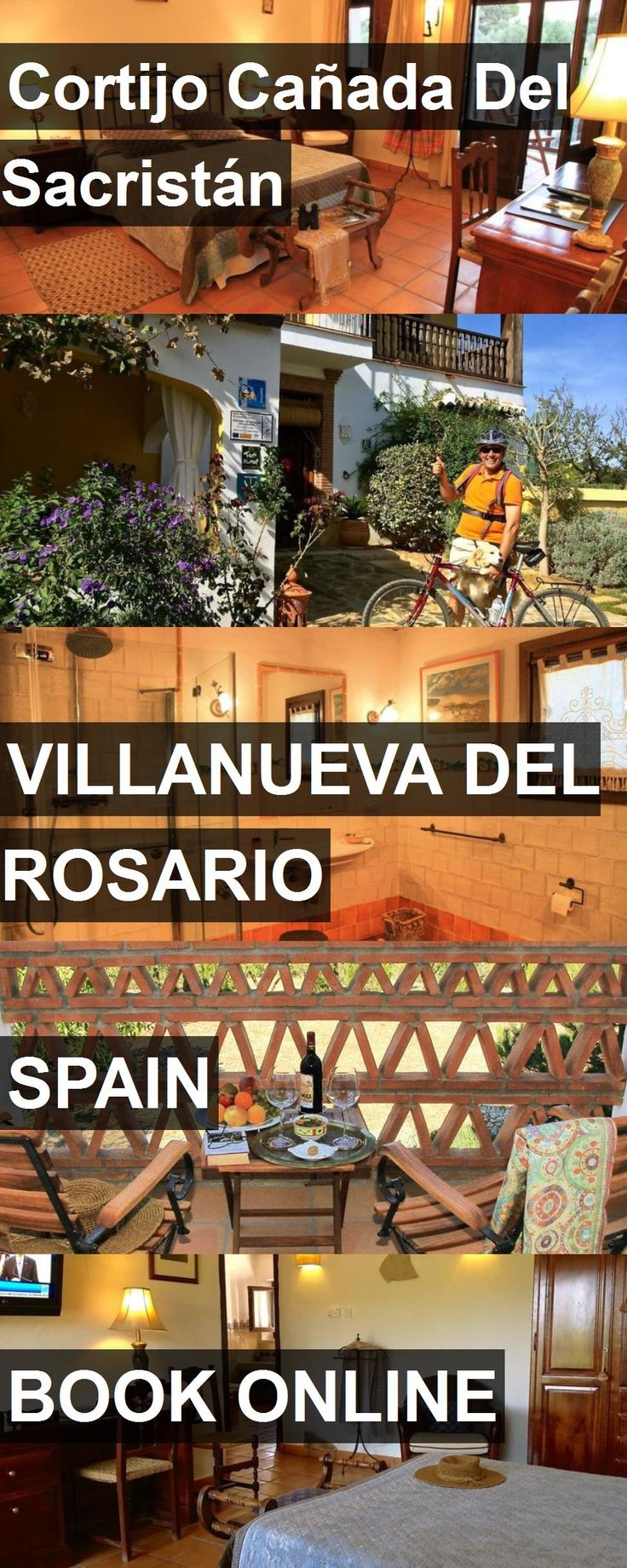 Hotel Cortijo Cañada Del Sacristán in Villanueva del Rosario, Spain. For more information, photos, reviews and best prices please follow the link. #Spain #VillanuevadelRosario #CortijoCañadaDelSacristán #hotel #travel #vacation